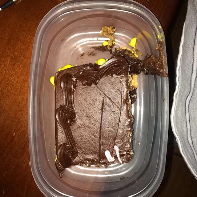 Mmmm chocolate cake.